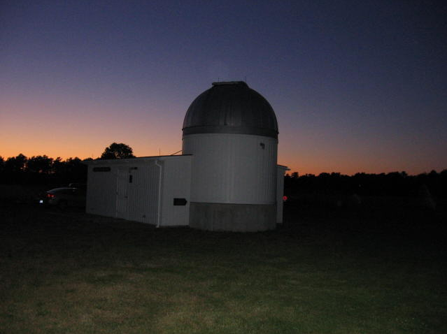 Photo of the Werner Schmidt Observatory