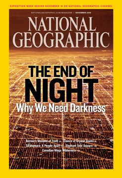 Click to read a National Geographic article on effects of light pollution
